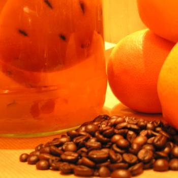 Nalewka pomarańczowo kawowa