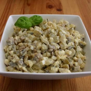 Sałatka warzywna z topinamburu