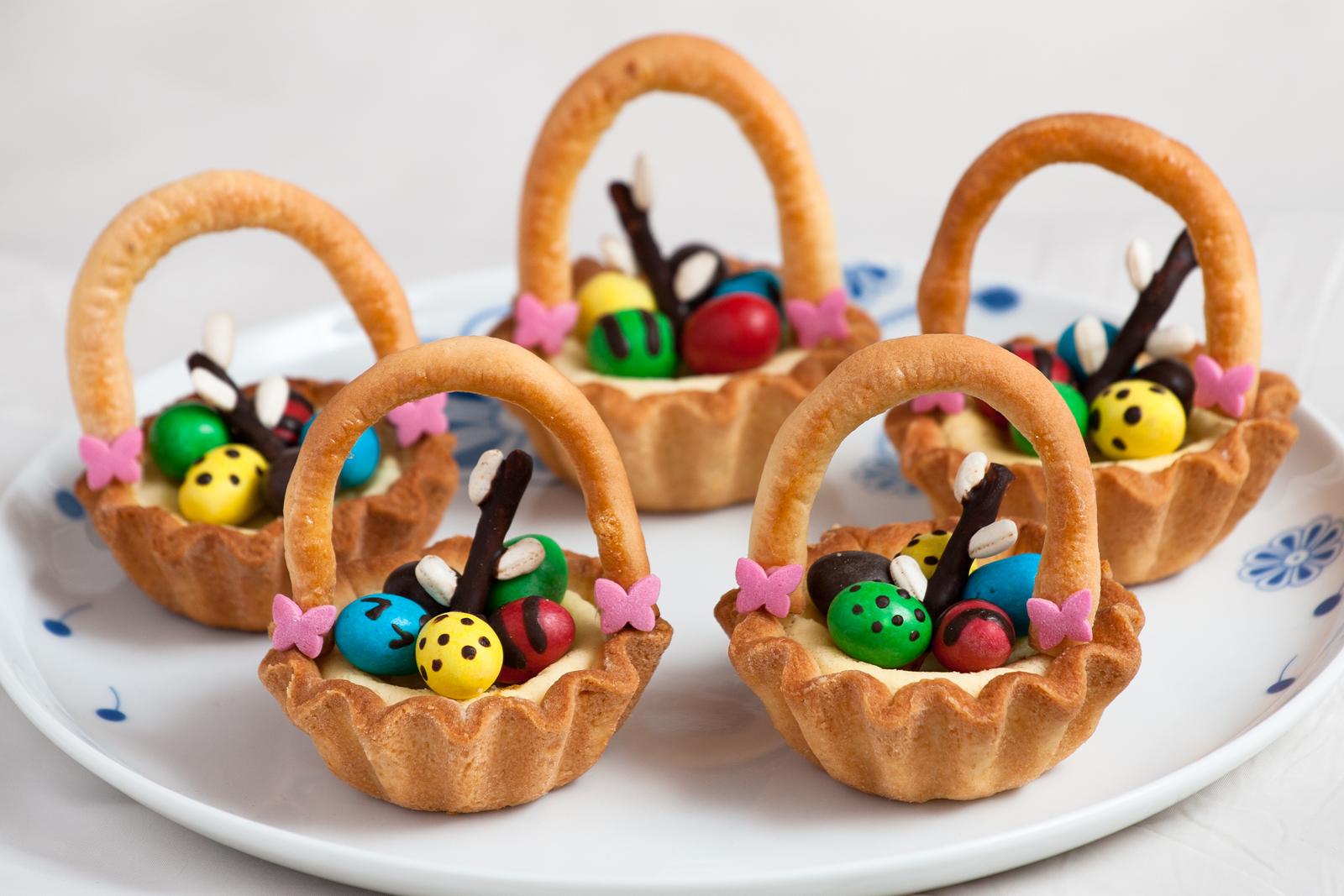 Wielkanocne Koszyczki Piekny Wielkanocny Przepis