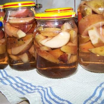 Kompot z jabłek na zimę