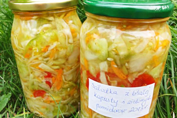 Salatka Z Bialej Kapusty I Pomidorow Przepisy Salatki
