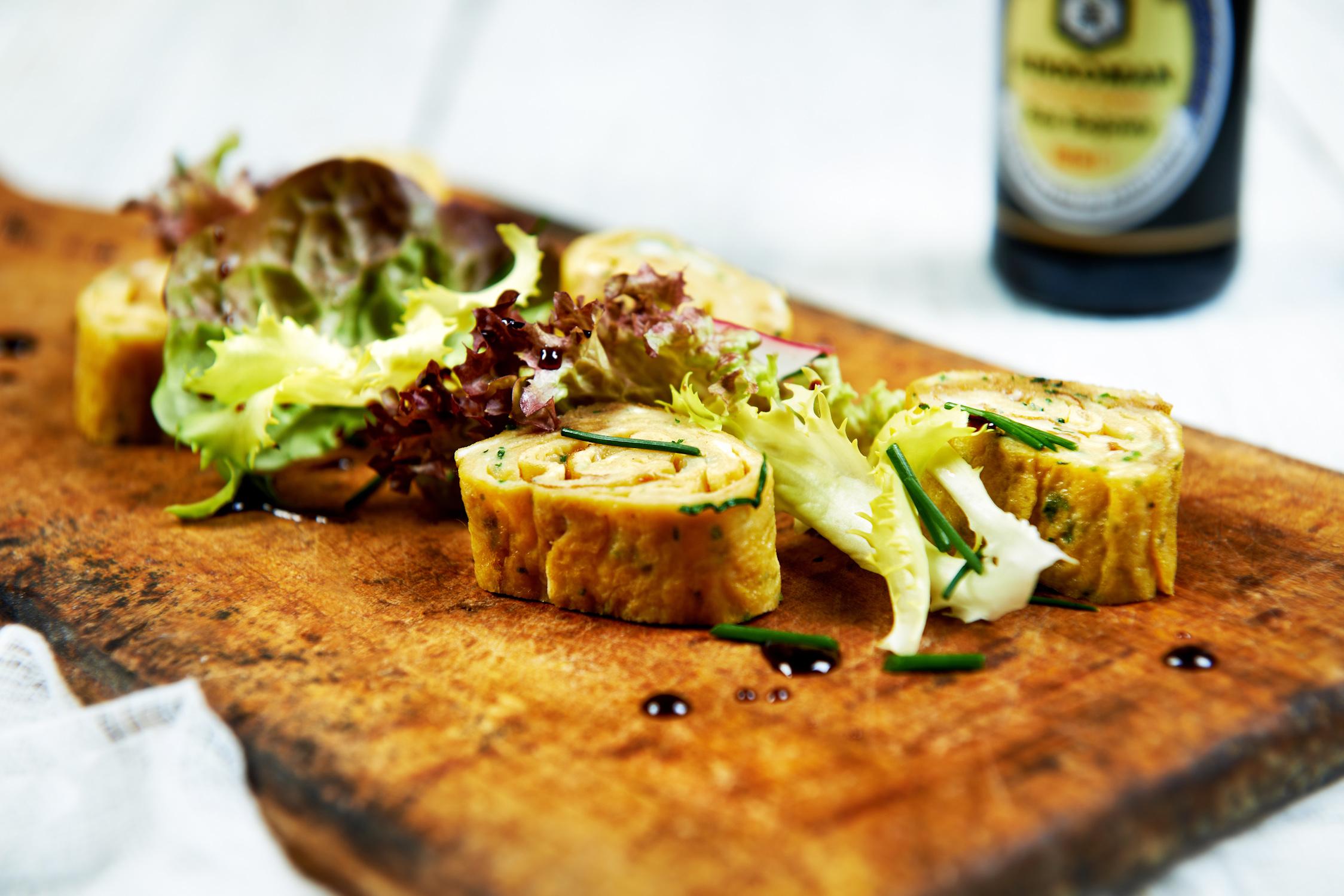 Omlet z kolendrą