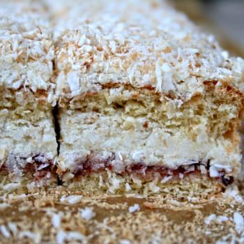 Ciasto kokosowe Łabędzi Puch