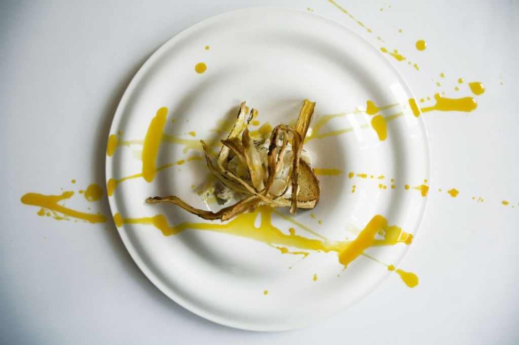 sałatka ze skorzonery