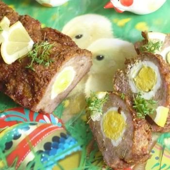 Pasztet z jajecznym oczkiem!!