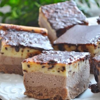 Sernik waniliowo -czekoladowy