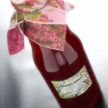 Domowy sok z malin