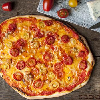 pizza pomidory gorgonzola