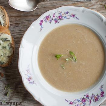 Zupa krem z pieczonej pietruszki