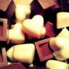 czekoladki z serduszkami
