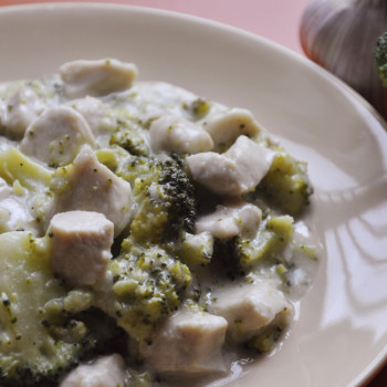 Kurczak w brokułach 1