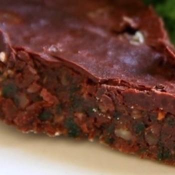Ciasto czekoladowe z jarmużem