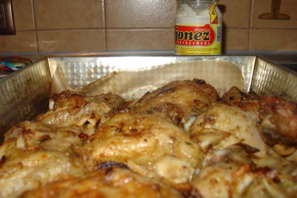 Chrupiacy Kurczak Pieczony W Majonezie