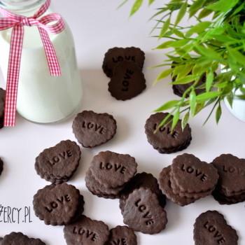 Kruche ciasteczka czekoladowe 13