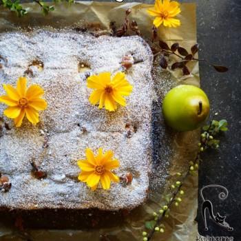 ciasto gruszka