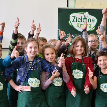 """Warsztaty """"Zielona Kraina"""" dlaczego warto kulinarnie edukować dzieci"""