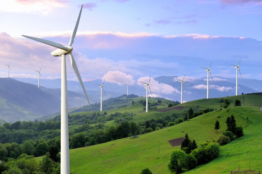 Zdejęcie energia odnawialna