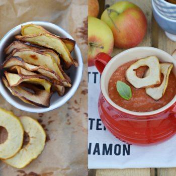 Tomato bisque z sokiem z jabłek