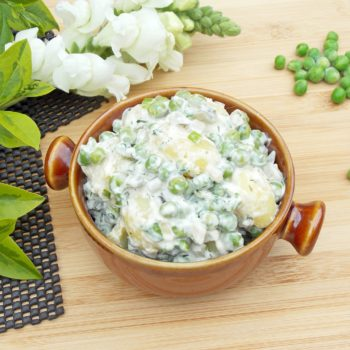 Zielona-grillowa-sałatka-ziemniaczana