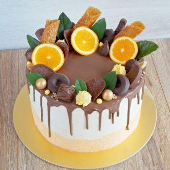 Tort-czekoladowo-pomarańczowy